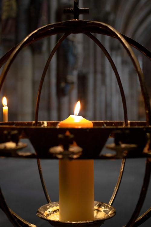 Kerze in St. Sebald